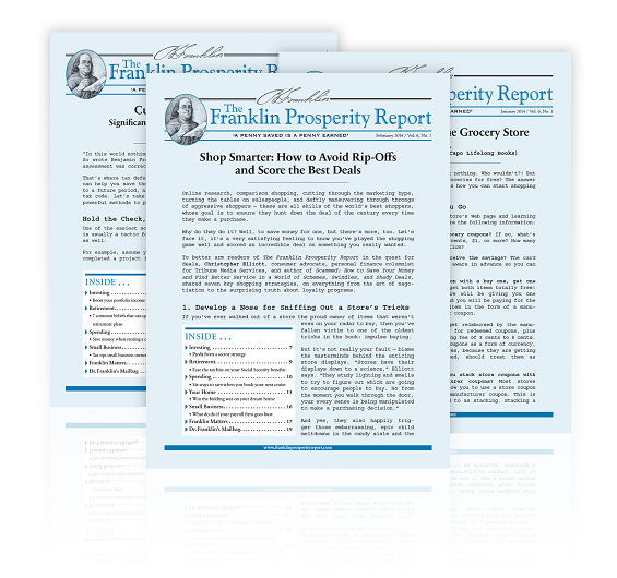The Franklin Prosperity Report, Edited by Sean Hyman